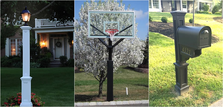 Post-Up | Professional Installation of Basketball Hoops, Lamp Posts, Mailboxes | Bucks County, PA