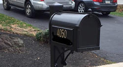 professiional residential mailbox installation - montgomery county, PA